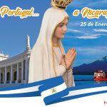 Seguindo o lema é 'Mãe peregrina e missionária, esperança dos nicaraguenses', a imagem permanecerá no país até o dia 25 de julho de 2021.